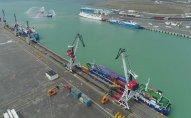 Bakı Beynəlxalq Dəniz Ticarət Limanında