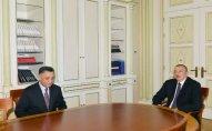 Prezident Ramil Usubovu qəbul etdi – FOTO