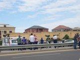 Çimərliyə gedən qadını Aeroport yolunda avtomobil vurdu - FOTO