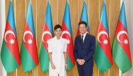 Mehriban Əliyeva MEDEF Biznes Şurasının prezidenti ilə görüşüb