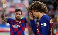 KİV: Qrizmann Messi ilə problemə görə