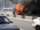 İranda azərbaycanlıları ziyarətə aparan avtobus yandı