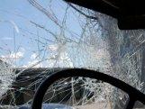 Bakıda ağır qəza: 2 nəfər yaralandı