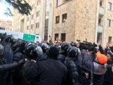 Tbilisidə etiraz aksiyası: xəsarət alanlar var