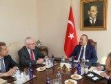 Minsk qrupunun həmsədrləri Türkiyə XİN başçısı ilə görüşüb