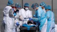 Britaniyada daha 563 nəfər koronavirusdan öldü