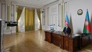 Azərbaycan və Moldova prezidentləri videokonfrans formatında görüşdü