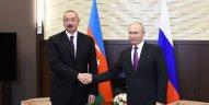 Vladimir Putin Azərbaycan Prezidentinə zəng etdi