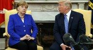 Merkellə Tramp mübahisə edib