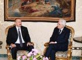 Prezident İlham Əliyev italiyalı həmkarına məktub göndərib