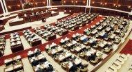 Milli Məclisin növbədənkənar sessiyasının ilk plenar iclası başlayıb