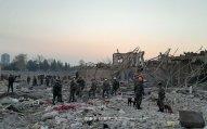 Ermənistanın Gəncəyə atdığı raketlər nəticəsində dəymiş ziyan hesablanır