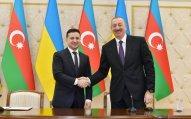 Zelenski İlham Əliyevi Ukraynaya rəsmi səfərə dəvət edib