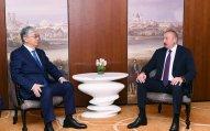Qazaxıstan Prezidenti Azərbaycanın dövlət başçısına zəng vurdu