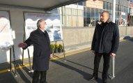 Prezident yeni yolun açılışında iştirak edib - FOTO