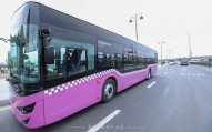 Bakıda sərnişin avtobuslarının mühafizəsi gücləndirilir