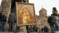 Xudavəng monastrına gəlmək istəyən ermənilər geri qaytarıldı