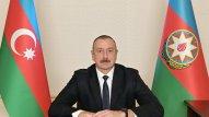 Prezident İlham Əliyev çıxış edir (VİDEO)