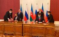 Moskvada Rusiya ilə Azərbaycan arasında daha 6 sənəd imzalandı