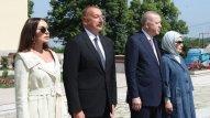 """Prezidentlər Şuşada """"Xan qızı"""" bulağında olub"""