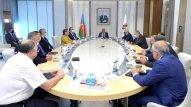 SOCAR-ın işdən azad olunan vitse-prezidentləri ilə görüş keçirildi