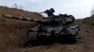 Ermənilərin tankı partladı