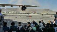 Kabil aeroportunda bütün reyslər dayandırıldı
