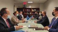 Ceyhun Bayramov Avropa Şurasının baş katibi ilə görüşdü