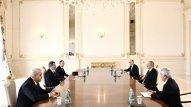 Prezident İraqın neft nazirini qəbul etdi (YENİLƏNİB)