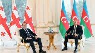 Prezident İrakli Qaribaşvilini qəbul etdi (FOTOLAR)