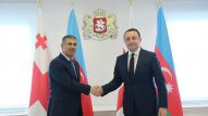 Zakir Həsənov Gürcüstanın Baş naziri ilə görüşdü (FOTO)
