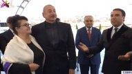 Prezident Cəbrayılda kövrəldi (VİDEO)