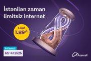 Azercell-in yüksəksürətli mobil internetini çoxçeşidli və sərfəli internet paketləri ilə kəşf edin!