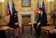 Sahibə Qafarova Slovakiyanın Baş naziri  ilə görüşdü (FOTOLAR)