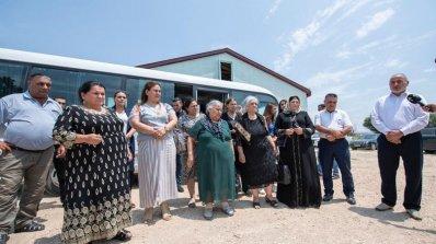 Zəngilanlılar doğma kəndlərində qurban kəsdi - FOTOLAR