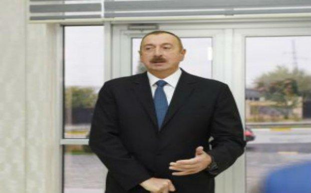 Prezident İlham Əliyev Abşerona gedib