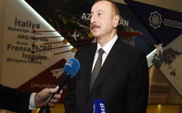 """""""Euronews"""" telekanalı """"Bakutel-2017"""" sərgisindən reportaj yayımladı"""