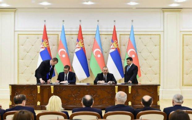 Azərbaycan-Serbiya sənədləri imzalanıb
