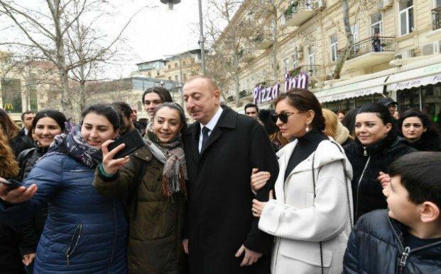 Prezident Novruz bayramı münasibətilə ümumxalq şənliyində iştirak edib  - FOTOLAR/YENİLƏNİB-2