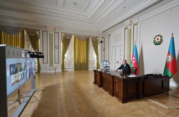 Azərbaycan Prezidenti ilə Asiya İnkişaf Bankının rəhbərləri arasında videokonfrans keçirilib