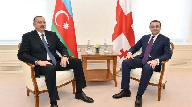 Prezident Gürcüstanın Baş nazirini qəbul etdi (YENİLƏNİB)