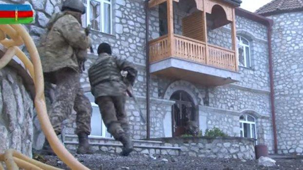 Müdafiə Nazirliyi Şuşa döyüşlərindən yeni görüntülər yaydı (VİDEO)