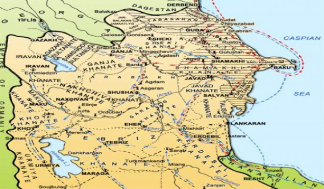 İkiyə bölünmüş Azərbaycan – Gülüstan müqaviləsi