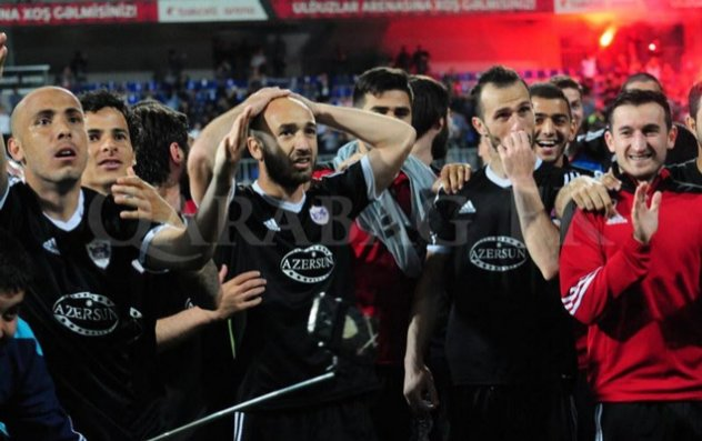 """""""Qarabağ""""ın oyununa 450 azarkeş gəldi"""