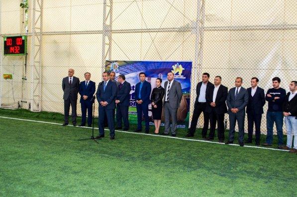 Gənc jurnalistlərin 1-ci futbol çempionatının açılış mərasimi baş tutub   - FOTOLAR