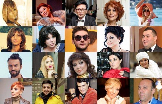 """Mənfi xəbərlərlə """"lider"""" olan MÜĞƏNNİLƏR – SİYAHI"""