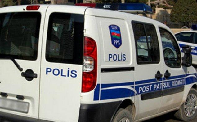 Polis İdarəsinin həyətində yanğın: iki avtomobil yandı