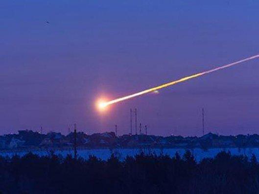 Rusiyanın ərazisi üzərində meteorit partlayıb - VİDEO