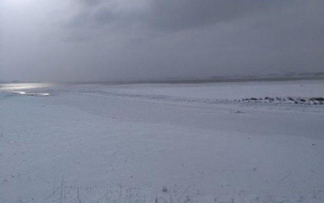 Türkiyədə göl dondu – VİDEO