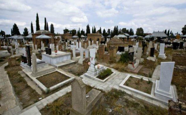 Nardaran qəbristanlığında basdırılmış silah-sursat tapılıb